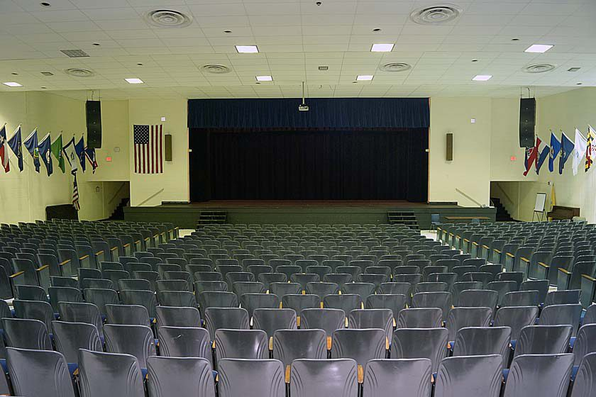 Highland High School Auditorium Sound System