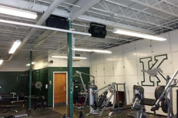 Weight Room Sound System