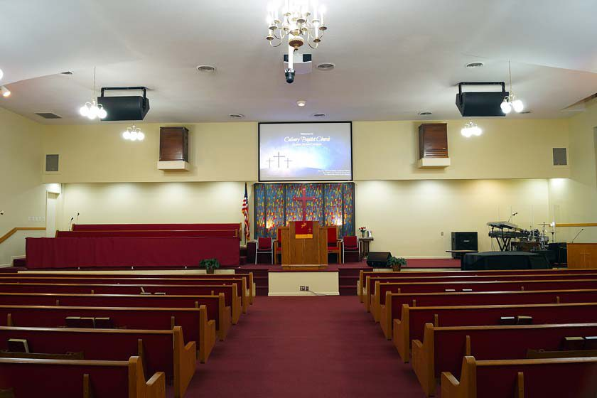 Calvary Baptist Church Sound and Video System