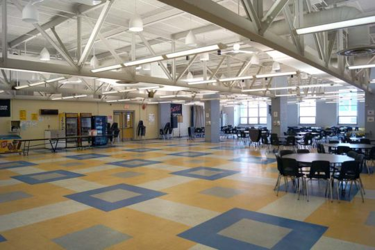 Memorial Middle School Cafeteria
