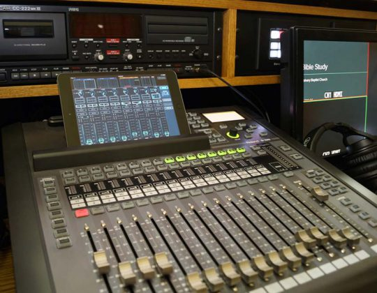 Church Sound and Video System
