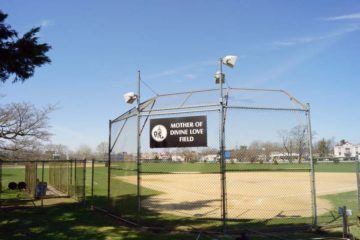 Baseball field speakers