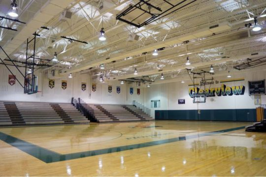 commercial sound system for gym