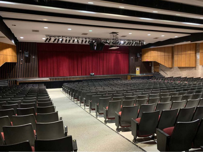 Kingsway High School Auditorium Sound System