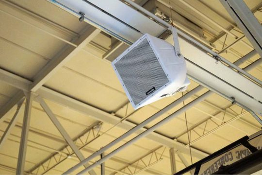 Community R.25 Loudspeaker for Upper Bleachers.