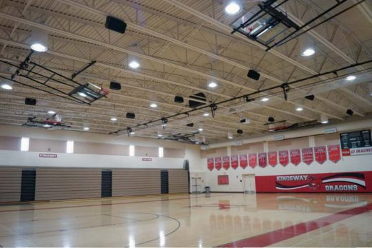 Kingsway High School Gym Sound System
