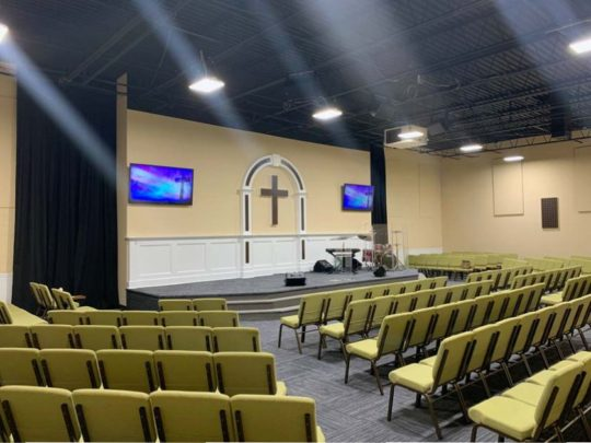 Rocklife Church Sound and Video System