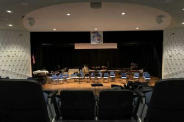 Wall Intermediate School Auditorium Sound System