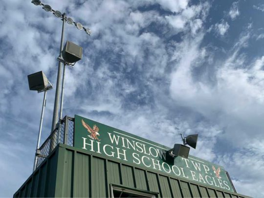 Winslow High School Pressbox Loudspeakers