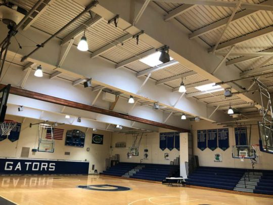 Gateway High School Gymnasium Sound System