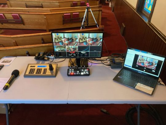 Streaming Setup Hedding United Methodist Church
